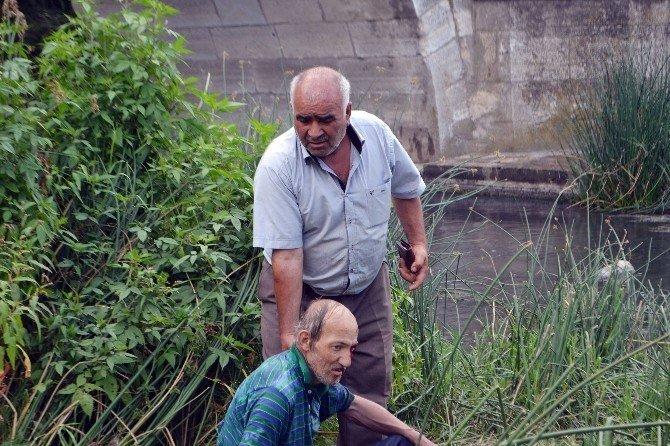 Tarihi Köprüden Düşen Şahıs Kurtarıldı