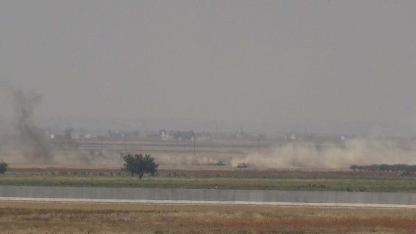 Klis'te Işid'e Karşı Bombardıman