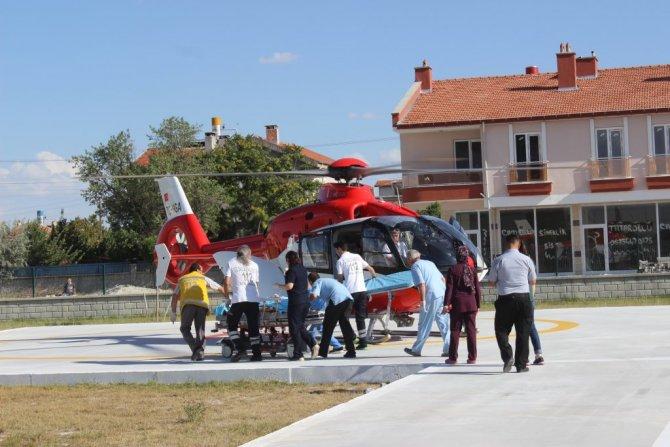 Konya'da Yolcu Otobüsü İle Motosiklet Çarpıştı: 1 Ölü, 1 Yaralı