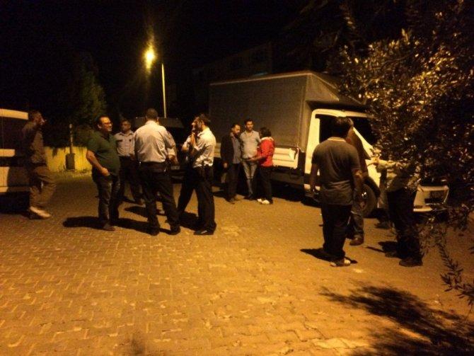 İzmir'de Mit Lojmanları Önünde Patlama