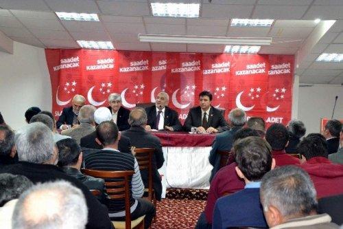 Saadet Partisi Mart Ayı Genişletilmiş Divan Kurulu Toplantısı Yapıldı