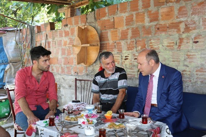 Samsun Aile Ve Sosyal Politikalar Müdürlüğü'nden Şehit Ailelerine Ziyaret
