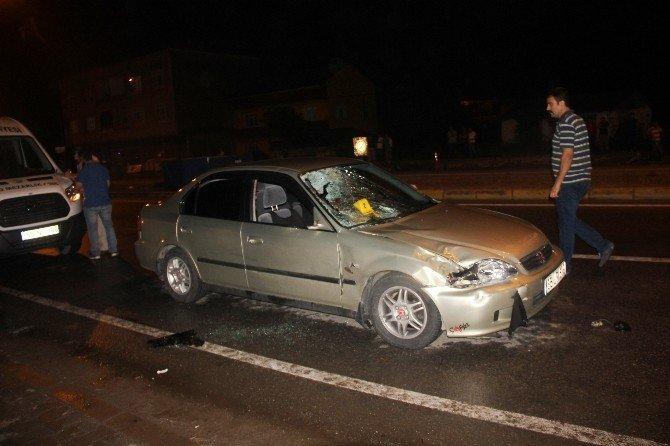 Samsun'da Otomobilin Çarptığı Şahıs Hayatını Kaybetti, Eşi Yaralandı
