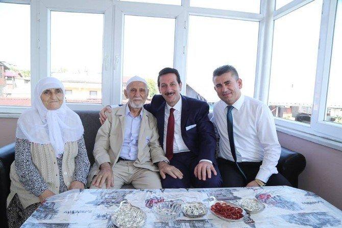 Samsunlu Hacılardan Başkan Tok'a Camii Ve Külliye İçin Teşekkür