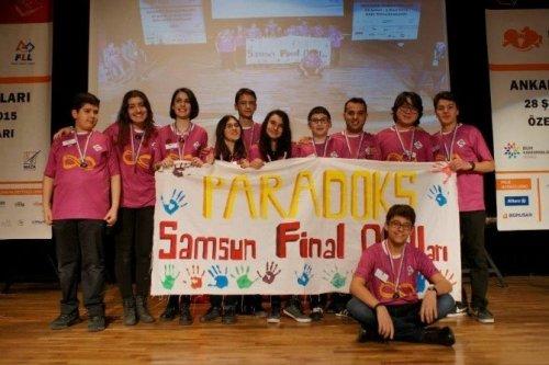 Samsun Final Okulları'na 'Araştırma Ödülü'