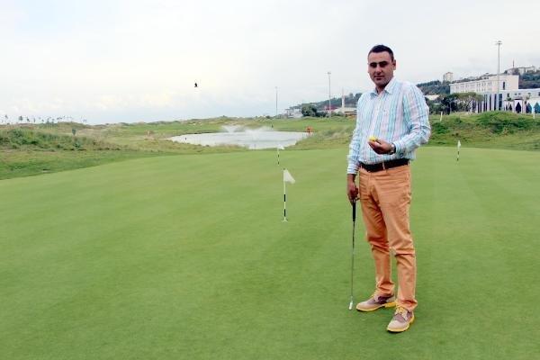 Samsun'da 50 Öğrenciye Ücretsiz Golf Öğretiyorlar