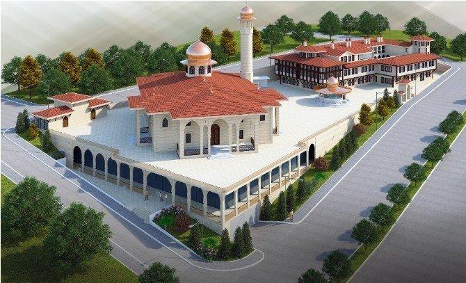 Samsun'daki Cami ve Külliye Projesi Türkiye'nin Sayılı Eserleri Arasına Girecek