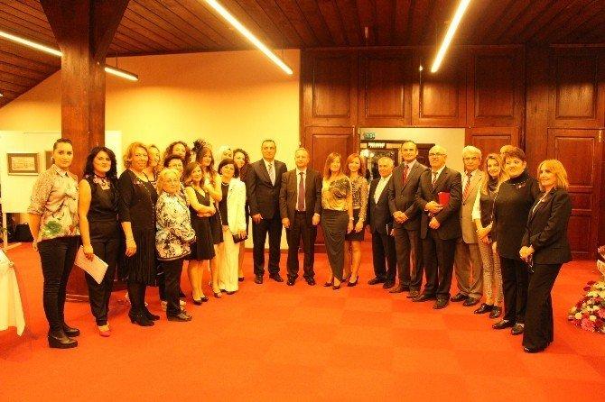 Samsun'da Kursiyerlerin Eserleri Görücüye Çıktı