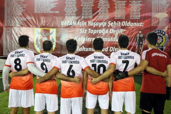 Samsun'da Şehitlere Anısına Turnuva Düzenlendi