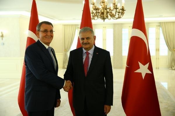 Samsun TSO Yönetim Kurulu Başkanı Salih Zeki Murzioğlu, Erdoğan ve Yıldırım'la Görüştü