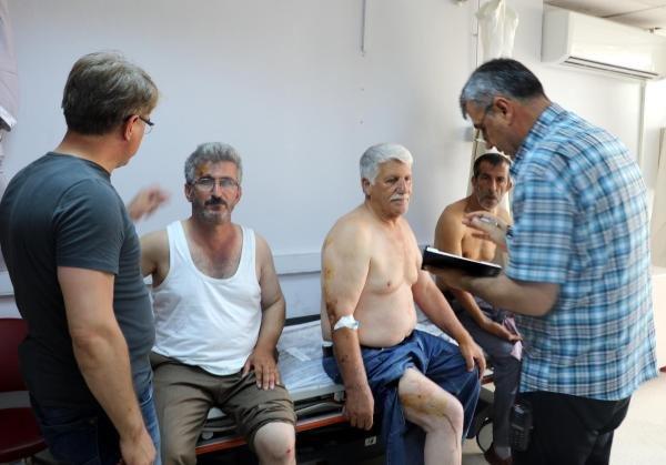 Samsun'da Kahvehaneye Pompalı Saldırı: 5 Yaralı