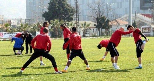 Samsunspor, Elazığspor Maçına Hazırlanıyor