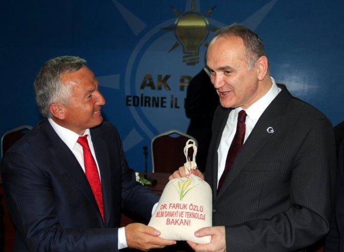 """Bilim, Sanayi ve Teknoloji Bakanı Faruk Özlü; """" Bu Millet Her Türlü Kötülüğü Dize Getirir"""""""