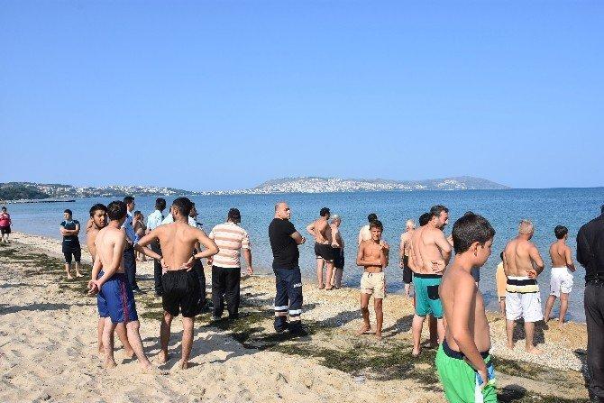 Sinop'ta Denizde Şambrelden Düşen Kadın Kayboldu
