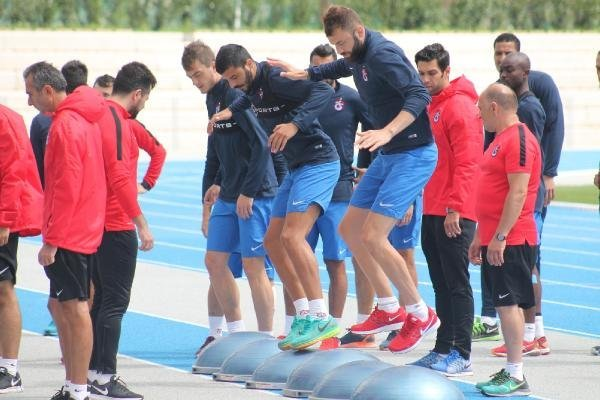 Trabzonspor Antrenmanında Gerginlik Yaşandı