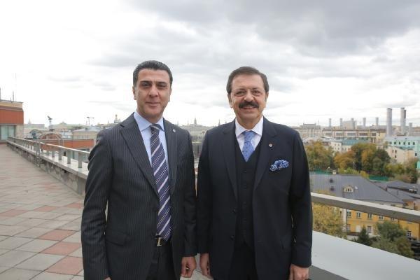 TOBB Başkanı Rıfat Hisarcıklıoğlu Moskova'ya Çıkarma Yaptı