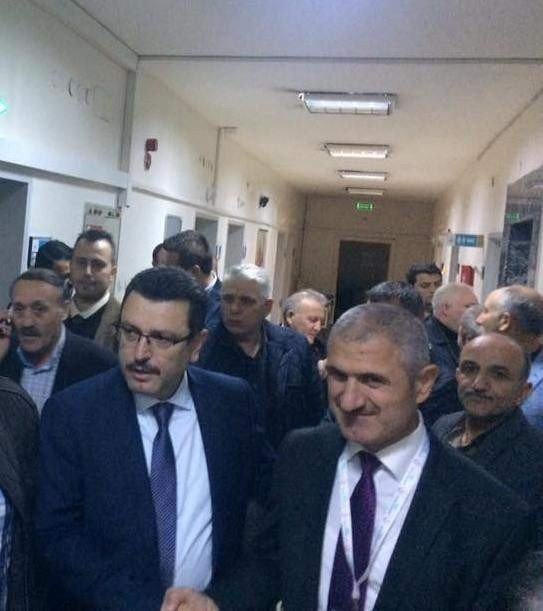 Trabzon'da AK Partili Başkan Grip Diye Gitti Ama