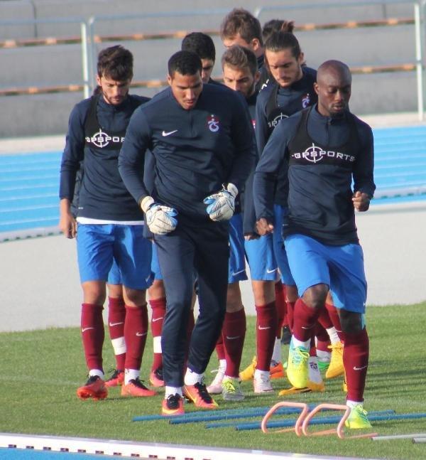 Trabzonspor'da Kıran Kırana Antrenman