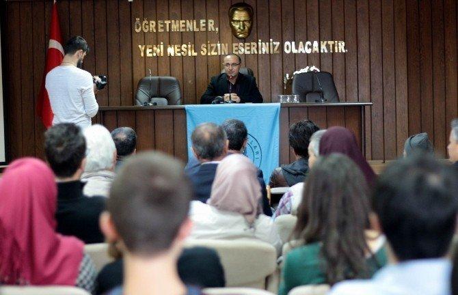 Hacettepe Üniversitesi Öğretim Üyesi Prof. Dr. Tufan Gündüz,Samsun'da Konuştu