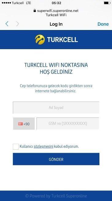 Turkcell'den Meydanlarda Ücretsiz Wifi Hizmeti