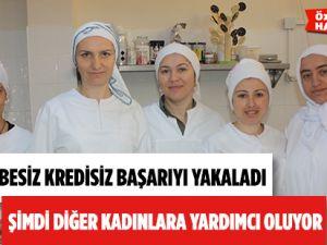 Samsun'da Kadın Dayanışması Ev Hanımlarına İstihdam Sağlıyor