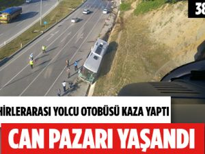 Samsun'daki Feci Trafik Kazasında 38 Kişi Yaralandı